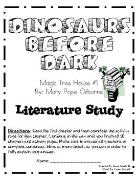 The Magic Tree House - Dinosaurs Before Dark