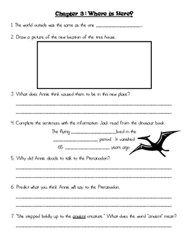 the magic tree house dinosaurs before dark by jamie jacobs tpt. Black Bedroom Furniture Sets. Home Design Ideas
