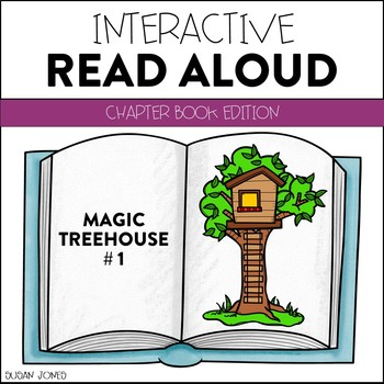 The Magic Treehouse (Dinosaurs Before Dark) - Interactive Read Aloud