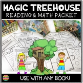 The Magic Treehouse Reading and Math Packet