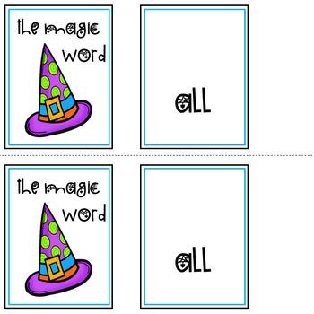 The Magic Word: Primer Word List