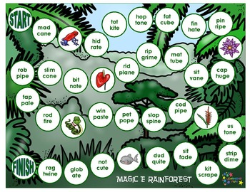 The Magic e Rainforest