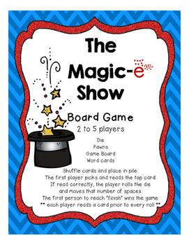 The Magic-e Show (final-e/silent-e)
