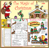 The Magic of Christmas–Santa Claus, Elves, Reindeer and Sa