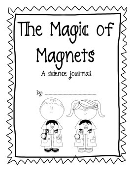 The Magic of Magnets Science Journal