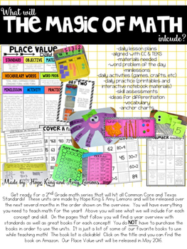 The Magic of Math: Year Overview and Book Suggestions List