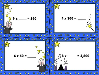 The Magic of Multiples - Multiplying by multiples of 10, 100, and 1,000