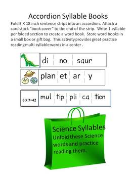 The Magic of Syllabication--Hands-on activities and games