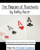 The Magician of Auschwitz Kathy Kacer reading/comprehension guide WWII Holocaust