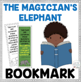 FREEBIE - Book Quote Bookmark  - The Magician's Elephant -