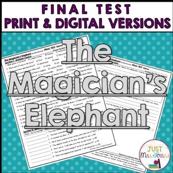 The Magician's Elephant Final Test