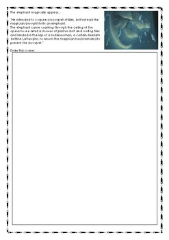 The Magician's Elephant Novel Response Booklet