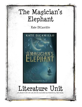 The Magician's Elephant by ... by Once Upon a Creative Classroom ...