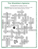 The Magician's Nephew: 50-Word Prereading Crossword—Great Warm-Up for the Book!