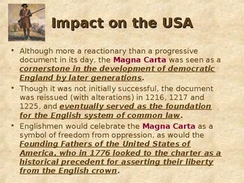 English Origins of US Government - The Magna Carta