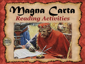 Magna Carta Reading Activities