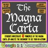 Magna Carta: Students Investigate the Principles then Analyze the Magna Carta!