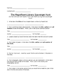The Magnificent Library Scavenger Hunt