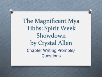 The Magnificent Mya Tibbs: Spirit Week Showdown Packet