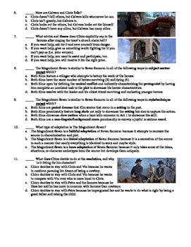 The Magnificent Seven Film (1960) 20-Question Multiple Choice Quiz