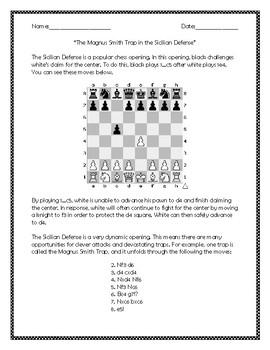 The Magnus Smith Trap in the Sicilian Defense