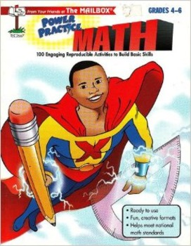 The Mailbox's Power Practice Math  Grades 4-6  Free Shipping
