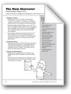 The Main Character (Book Report Form)