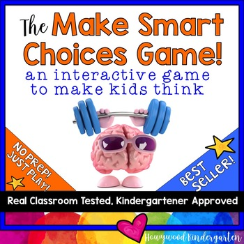 The Make Smart Choices Game!  Perfect for teaching rules,