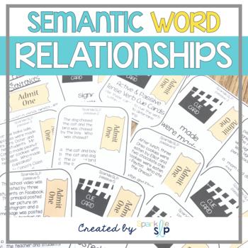 Workbooks » Semantic Relationships Worksheets - Free Printable ...