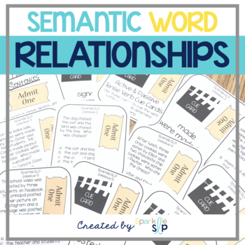 Semantic Relationships: The Making of Meaningful Relationships