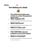 The Making of a Book Questions (Journeys Common Core Grade