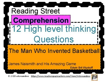 The Man Who Invented Basketball Comprehension Questions