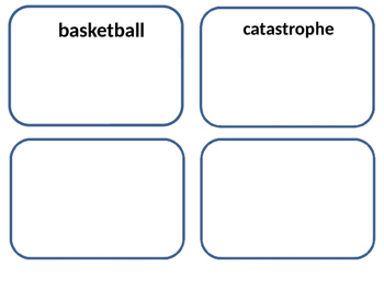 The Man Who Invented Basketball amazing and vocabulary words