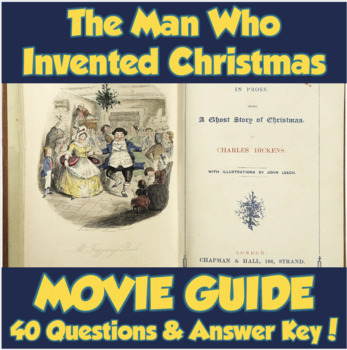 The Man Who Invented Christmas Poster.The Man Who Invented Christmas Movie Guide 2017