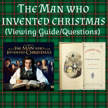 The Man Who Invented Christmas Poster.The Man Who Invented Christmas Viewing Guide Questions