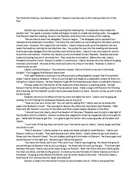 The Man Who Shot Liberty Valance Adaptation and Teaching Script