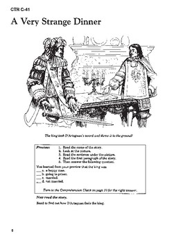 The Man in the Iron Mask Read-along with Activities and Narration