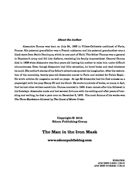 The Man in the Iron Mask 10 Chapter Reader