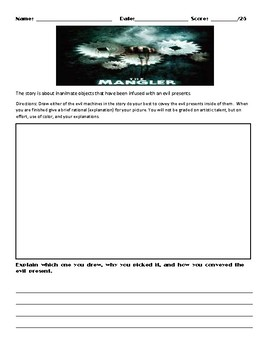 The Mangler by Stephen King Assignment