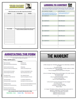 The Manhunt Comprehension Activities Booklet!