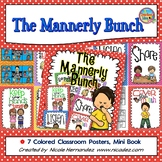 Manners Posters and Mini Book