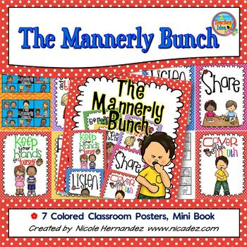 Manners - Posters and Mini Book
