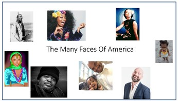 The Many Faces of America