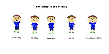 """The Many Faces of Billy"": Identifying Feelings and Emotions"
