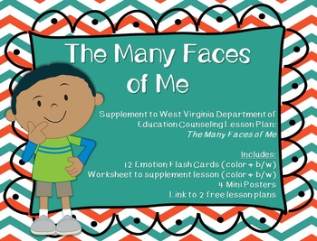The Many Faces of Me: Supplement for WV Counseling Curriculum