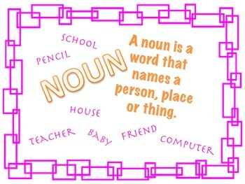 The Many Parts of Speech!