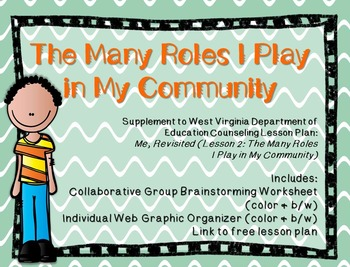 The Many Roles I Play in My Community: Supplement for WV Counseling Curriculum