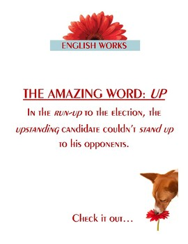 """""""UP"""":  the most amazing little word!"""