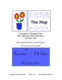The Map: A Reader's Theater Play that Teaches Word Families -ap and -og