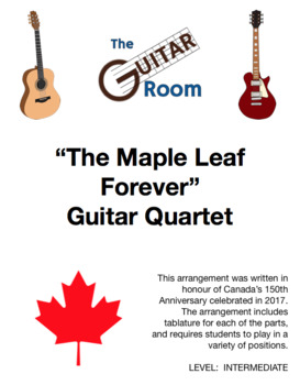The Maple Leaf Forever - Guitar Ensemble